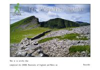The Two Thousand  Foot Mountains  of England & Wales
