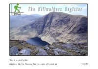 The Two Thousand Foot Mountains of Ireland