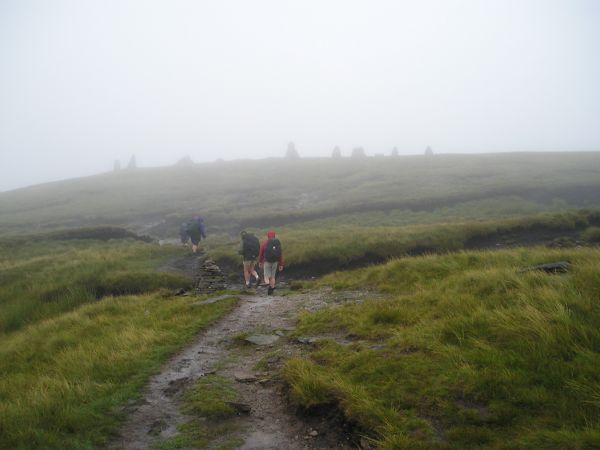 The approach to Nine Standards Rigg