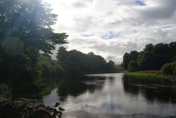 River Tweed, Melrose, Borders Abbeys Way