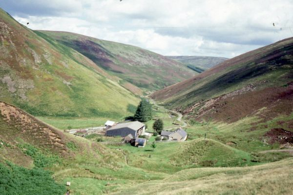 Breamish Valley in the Cheviots
