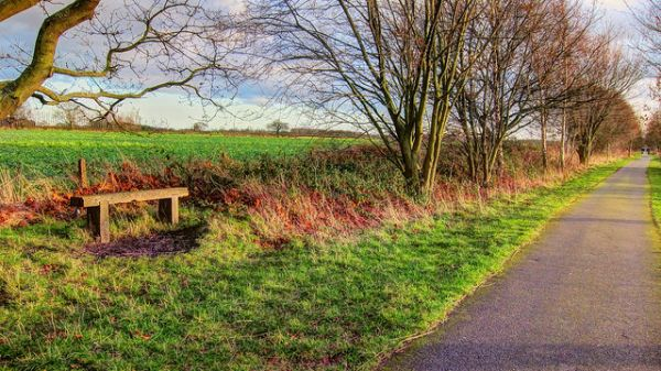 York to Selby Railway Path © Claire Waiting