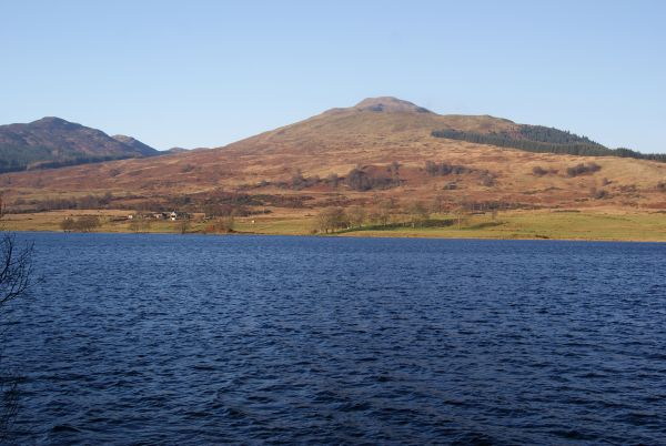 Ben Ledi and Loch Venechar, Rob Roy Way