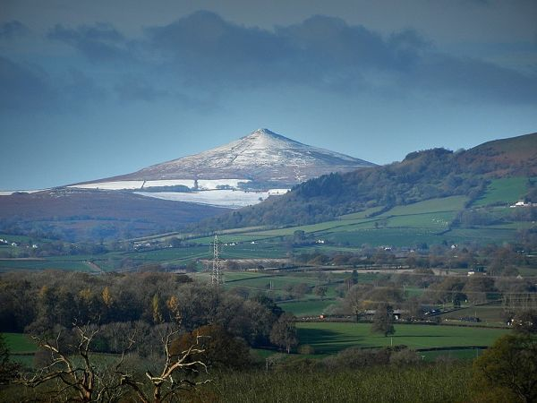 Sugar Loaf enjoyed from Offa's Dyke Path