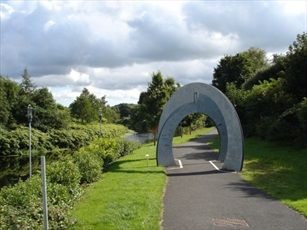 'Concentric Twist' on Lagan & Lough Way © CycleNI