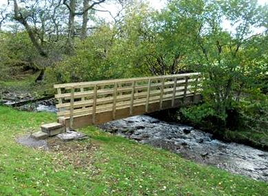 Crosdale Beck Bridge near Sedbergh