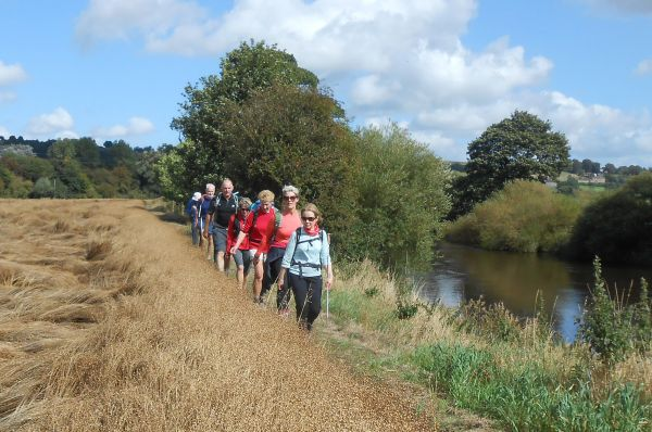 On the banks of the River Wharfe
