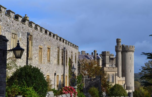 Priory and Arundel Castle