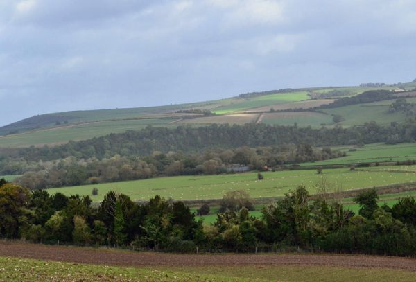Valley above South Stoke