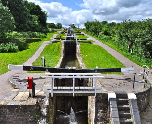 Foxton Locks © Leicestershire Footpath Association