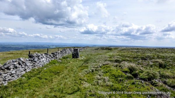 Summit of Penhill above Middleham