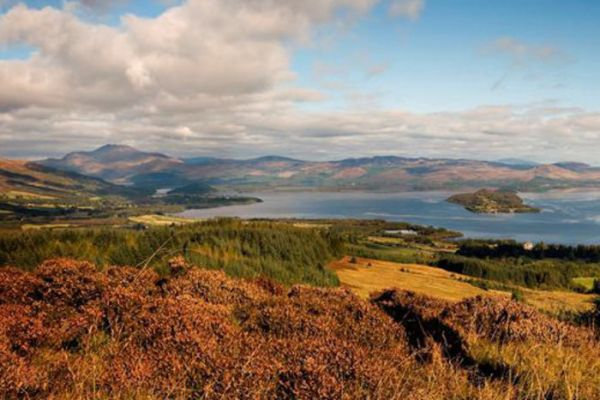 Loch Lomond on the John Muir Way