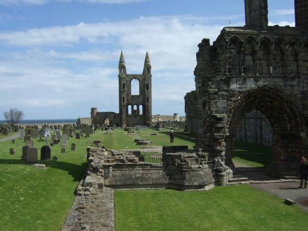 The Cathedral, St Andrews, Fife