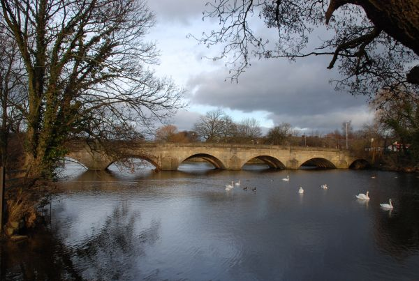 River Wharfe Bridge at Otley