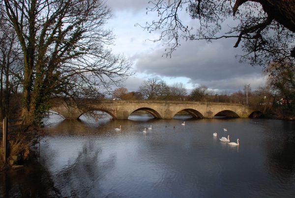 Bridge over River Wharfe at Otley