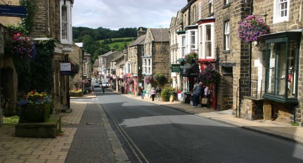 Pateley Bridge Town Centre