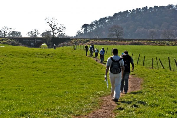 Pilgrims near Beeston