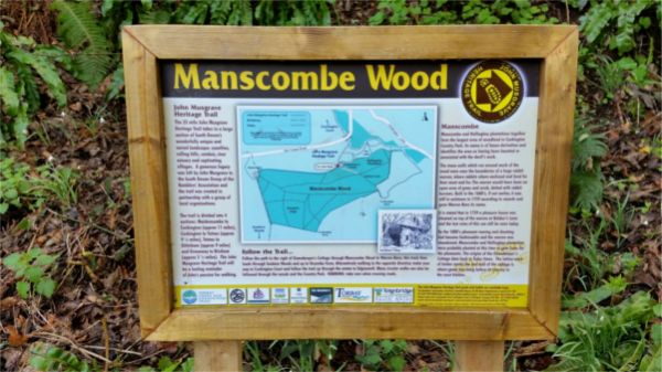Information Board on route © South Devon Ramblers
