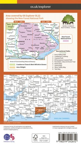 Map Back Cover