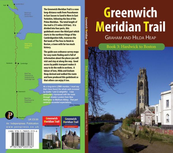 Greenwich Meridian Trail Book 3: Hardwick to Boston