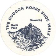 Badge & Certificate for Duddon Horseshoe
