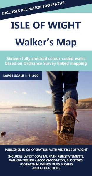 Isle of Wight Walker's Map