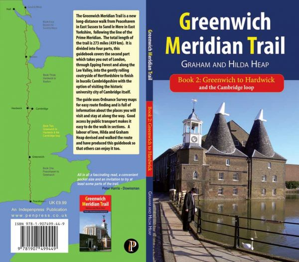 Greenwich Meridian Trail Book 2: Greenwich to Hardwick and the Cambridge Loop