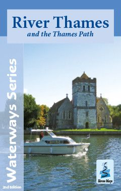 Heron Maps - River Thames with the Thames Path