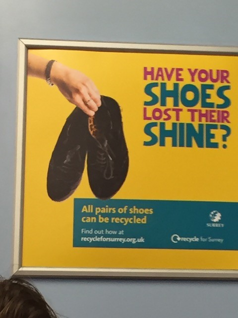 Recycling your muddy shoes