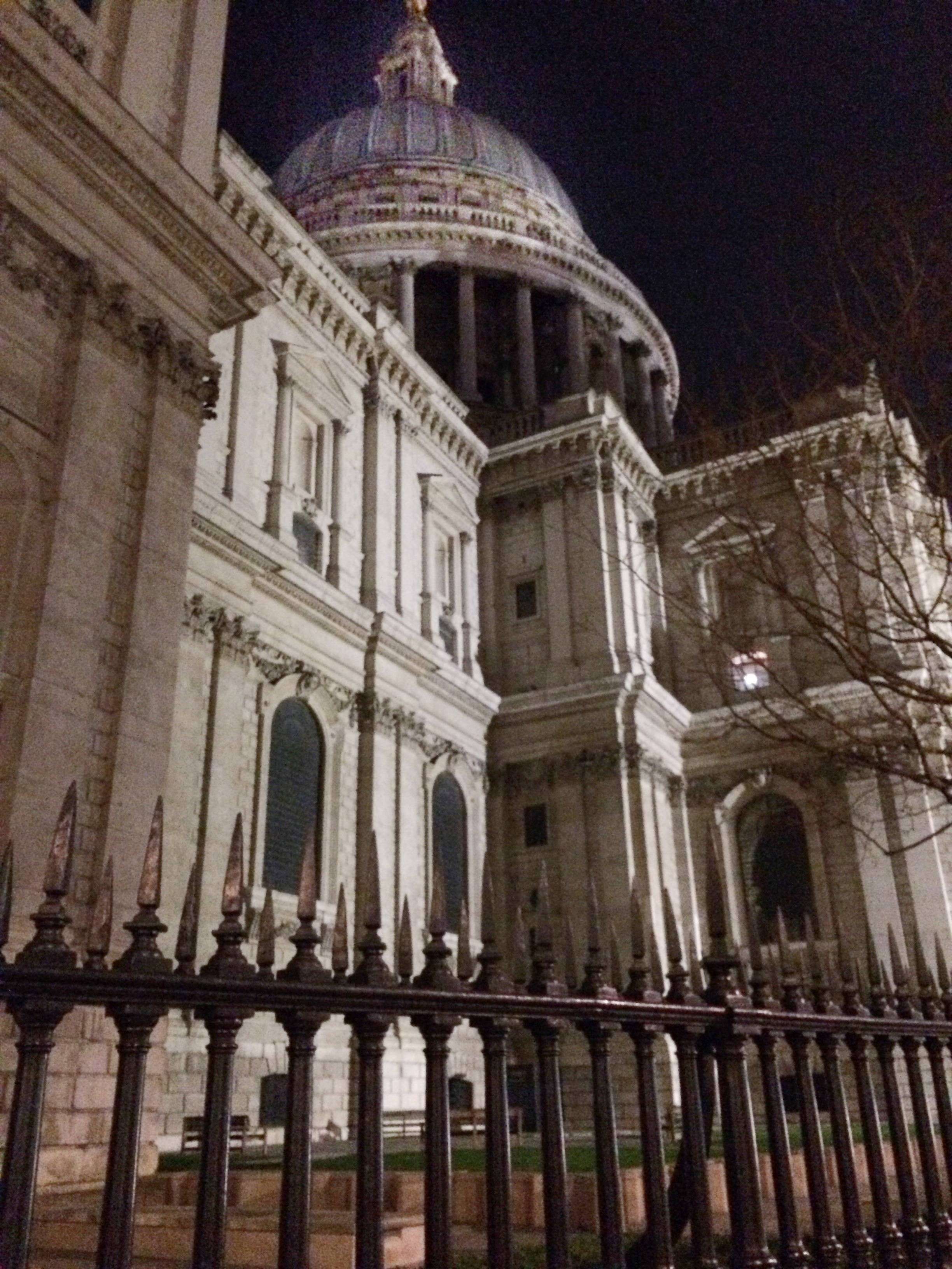 St Pauls in the evening
