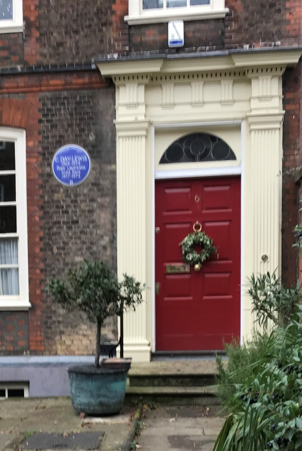 cecil day lewis plaque