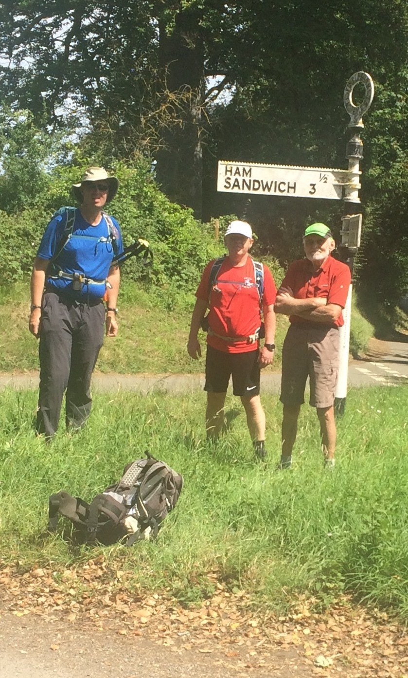 graham and two signpost