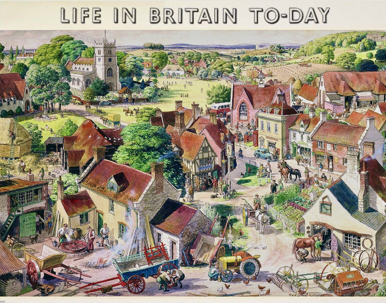 life in britain today
