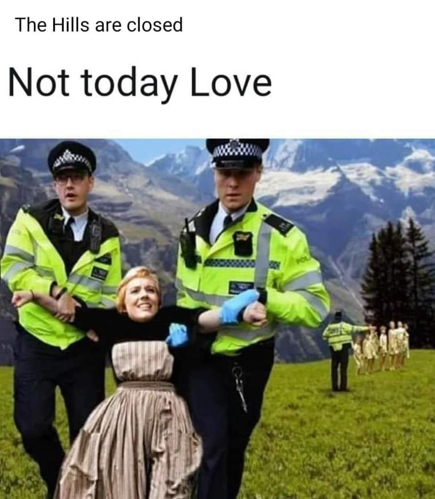 zealous police julie Andrews