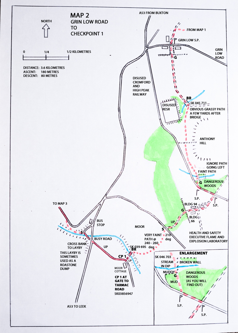 South Manchester LDWA  Route Maps