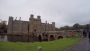 Herstmonceux Castle - said to be one of the oldest significant brick buildings still standing in England