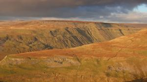 Looking across High Cup Gill towards Great Dun Fell