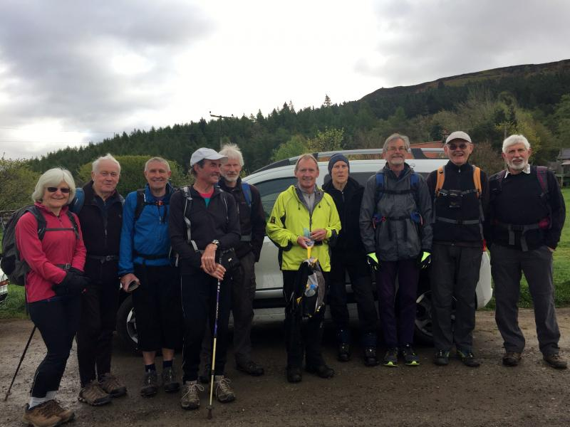 Alans Group of Happy Walkers