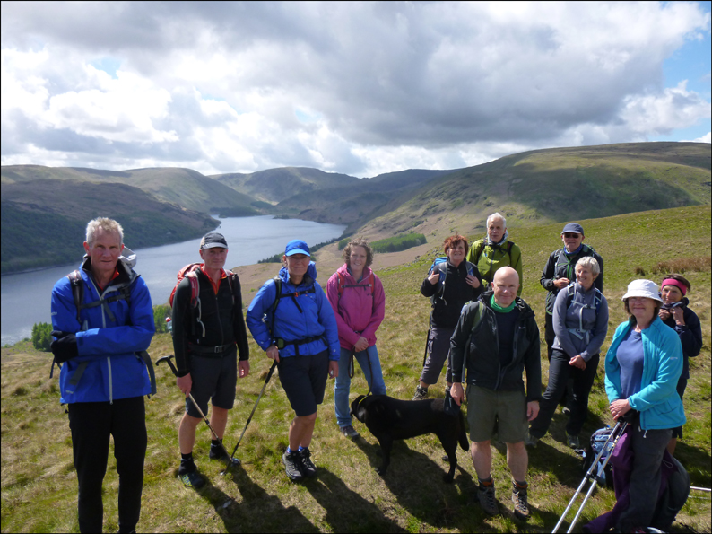 ABOVE HAWESWATER