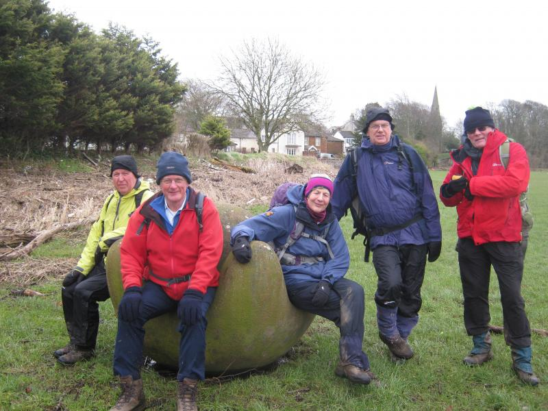 THE GROUP AT 'GLOBAL WARMING' ROCKCLIFFE