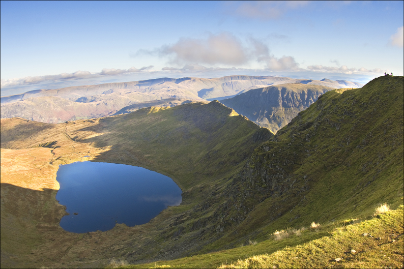 RED TARN AND STRIDING EDGE, HELVELLYN