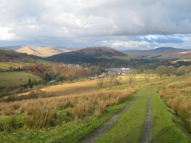 LANGHOLM AND THE HILLS BEYOND