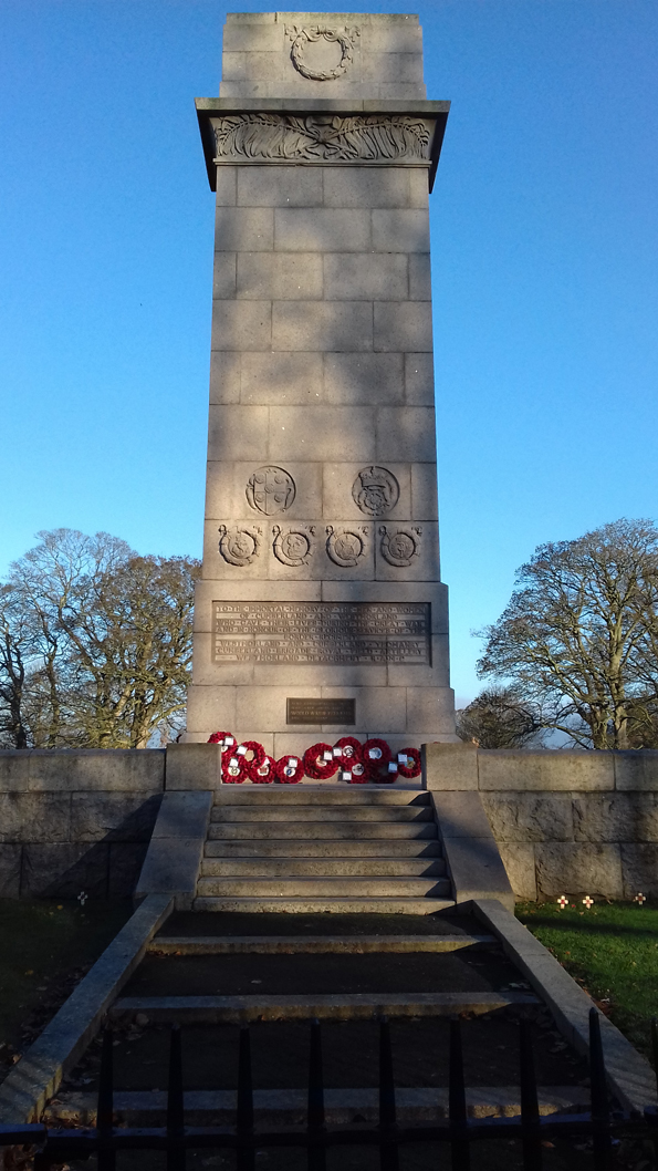 COUNTY CENOTAPH, RICKERBY PARK