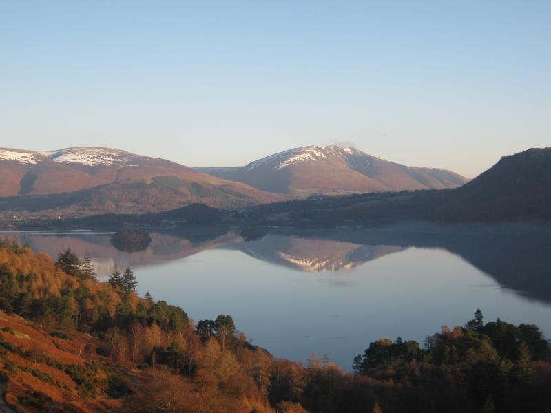 DERWENT WATER FROM CATBELLS TERRACE