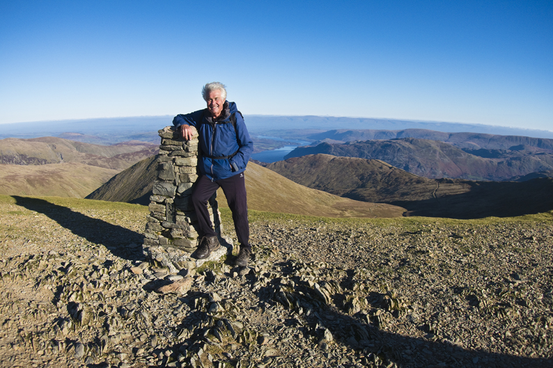 100TH HELVELLYN ASCENT FOR THE CHAIRMAN