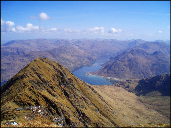 LOCH HOURN FROM LARVEN