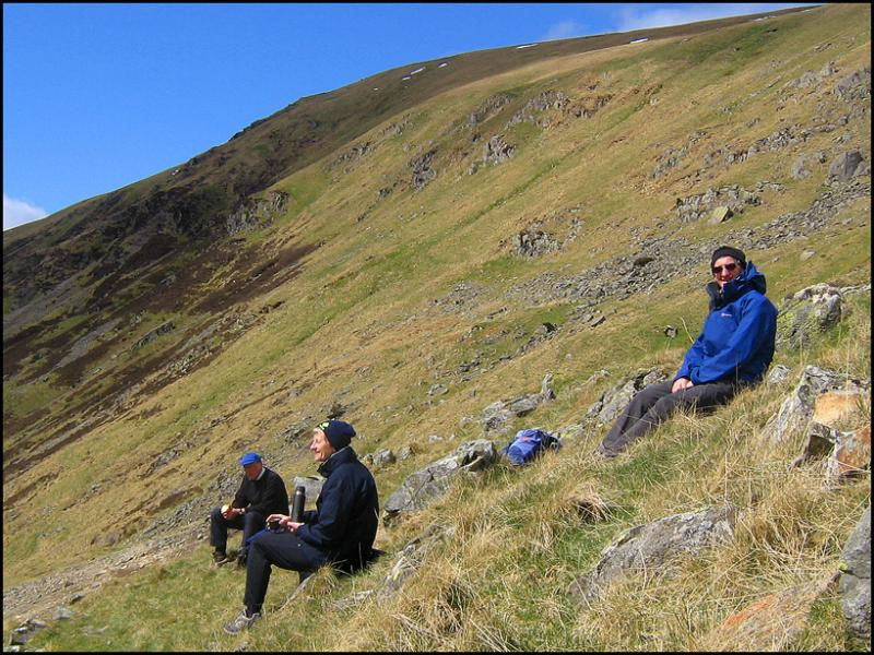 LUNCHTIME ABOVE GREENHEAD MINE