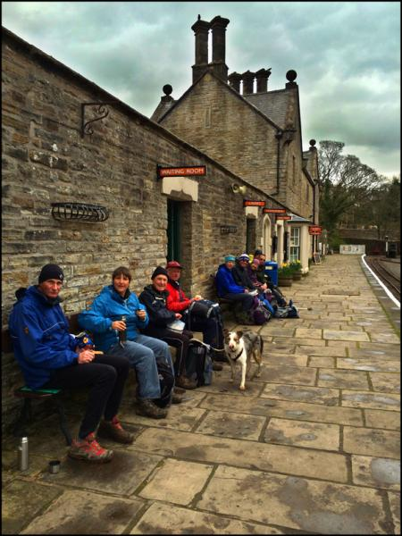 LUNCH AT ALSTON STATION