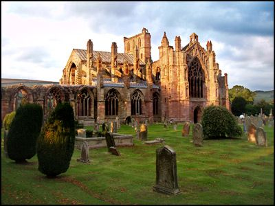 DAY 2 - 7.MELROSE ABBEY