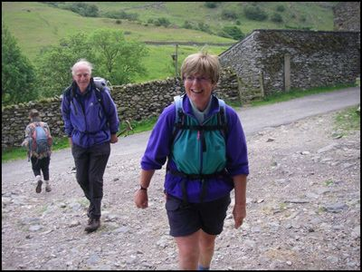 14.ANN & RON AT TRUSS GAP